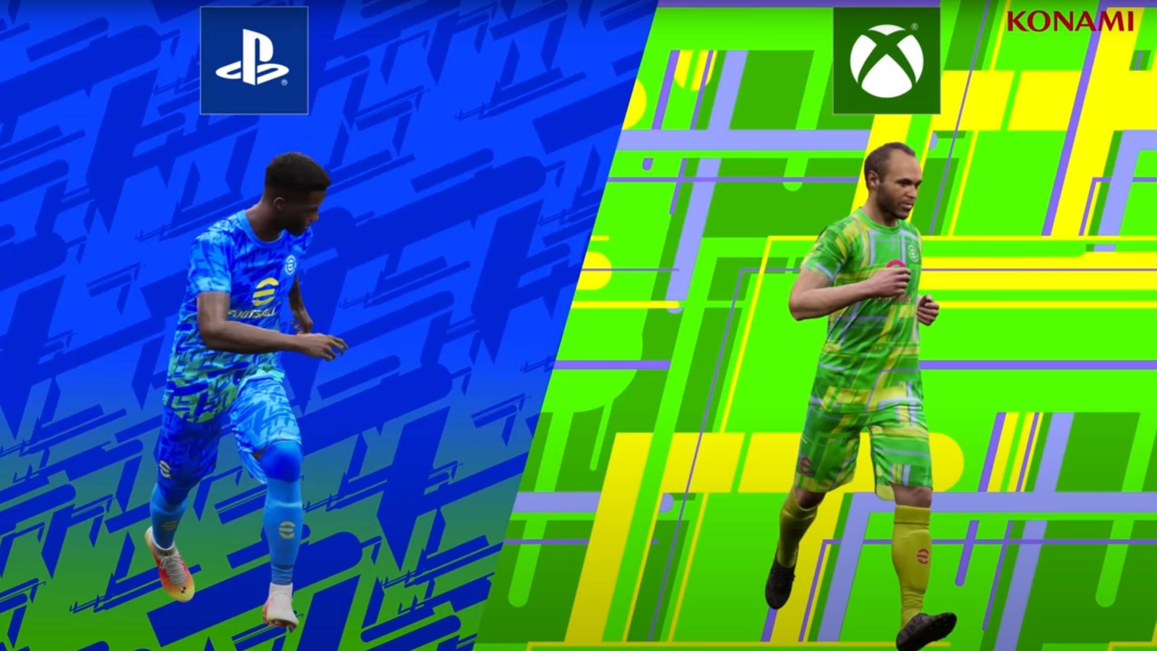 eFootball PlayStation versus Xbox crossplay