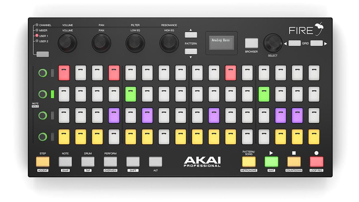 Akai Fire is the first ever dedicated hardware controller