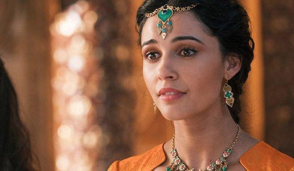 Naomi Scott as Princess Jasmine in live-action Aladdin