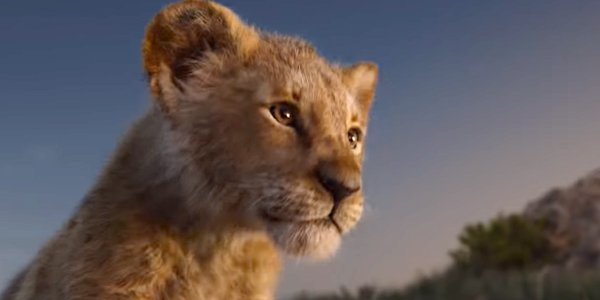 The Lion King trailer shot young Simba