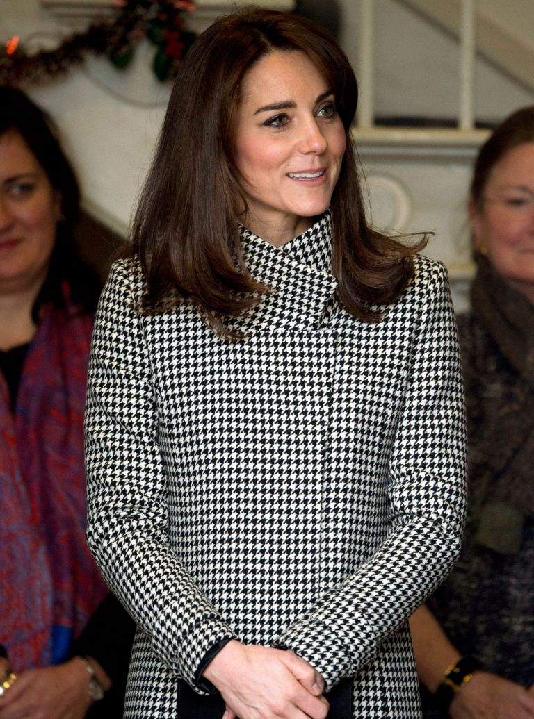 kate middleton houndstooth jacket
