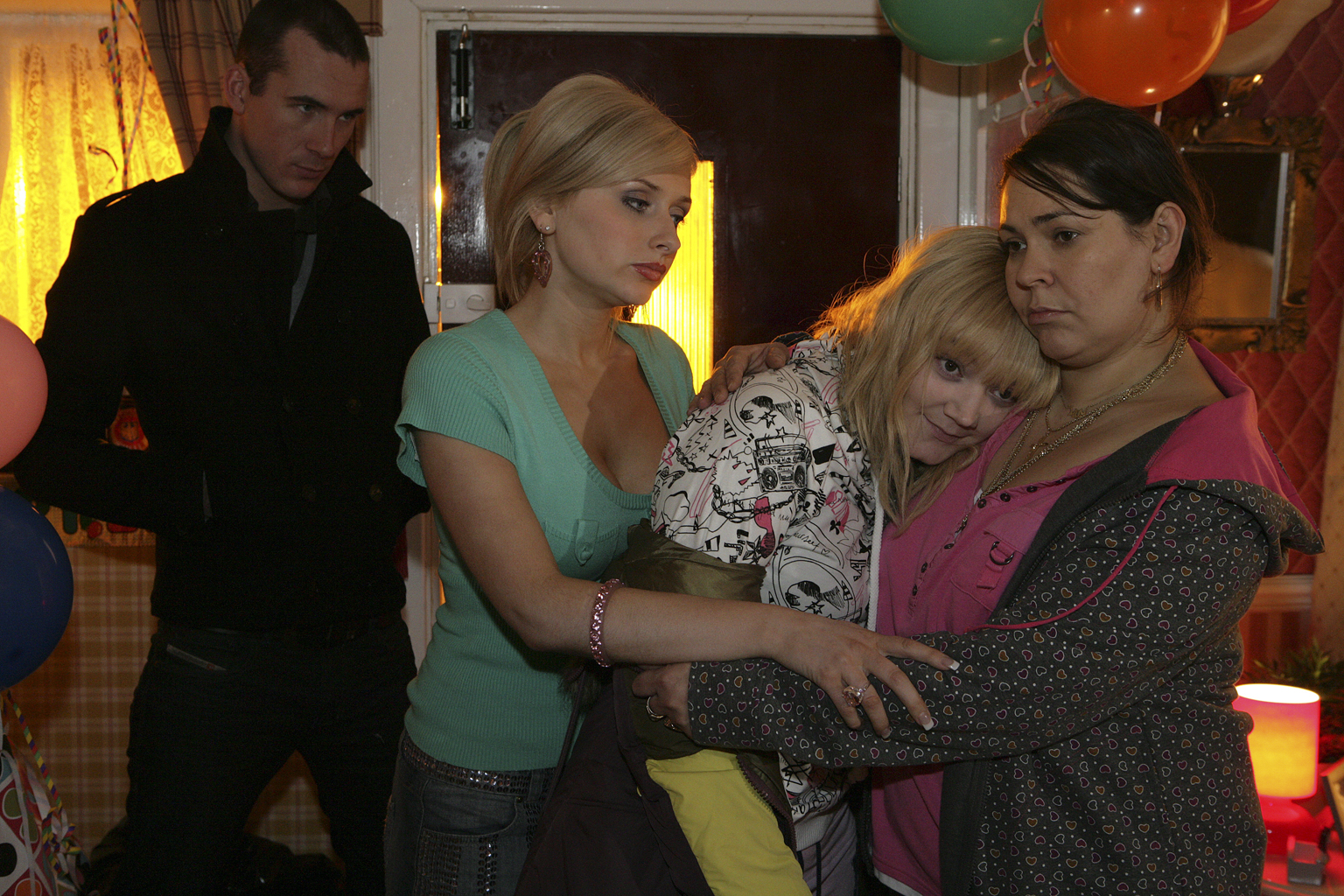Amy chucks Michaela out