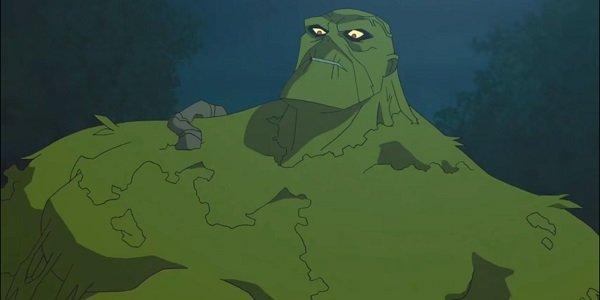 Swamp Thing Batman And Harley Quinn DC Animated