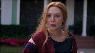 Elizabeth Olsen in WandaVision