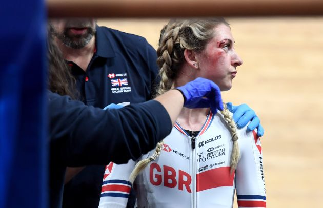 Laura Kenny says 'it has been a month to forget' after Worlds crash - Cycling Weekly