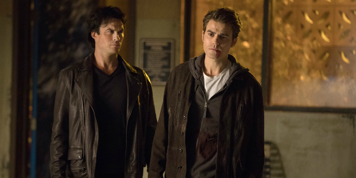 The Vampire Diaries Damon Salvatore Ian Somerhalder Stefan Salvatore Paul Wesley The CW