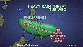 weather, more rain in Philippines