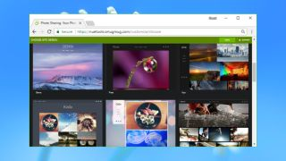 Smugmug website builder review techradar for Smugmug templates