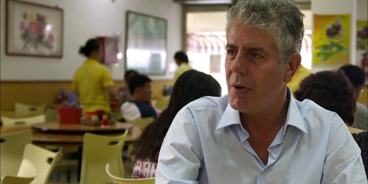 Anthony Bourdain in The Layover