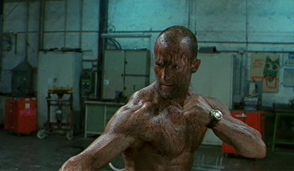 The Transporter Oil Fight Jason Statham
