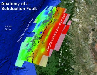 chile subduction
