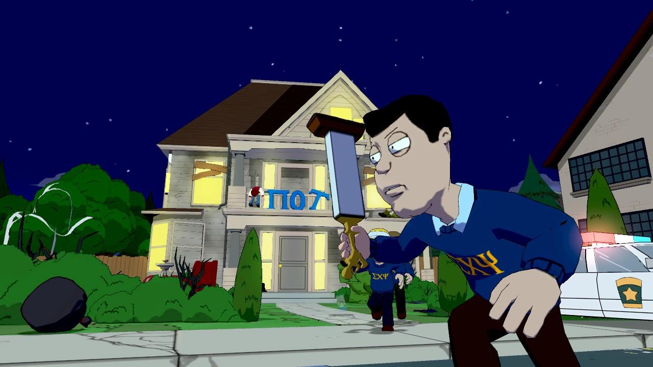 Family Guy: Back to the Multiverse Screenshots Shoot Up Quahog #22912