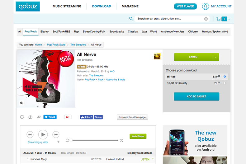 Where can you buy hi-res music? Here are the top download sites