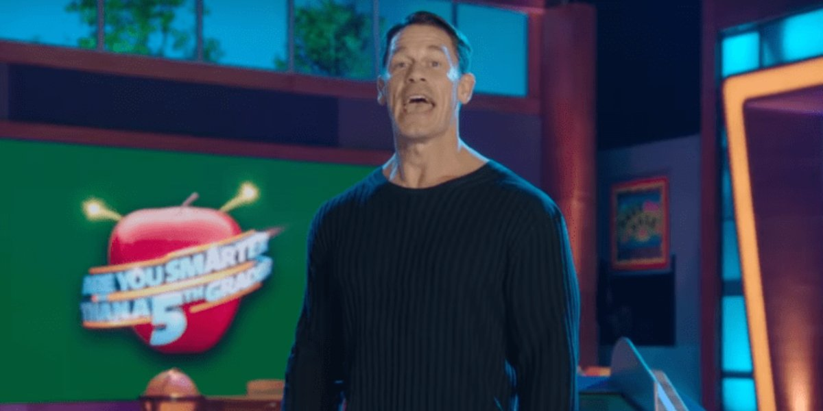 John Cena on Are You Smarter than a 5th Grader