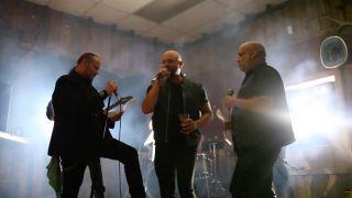 Tim 'Ripper' Owens, Geoff Tate and Blaze Bayley