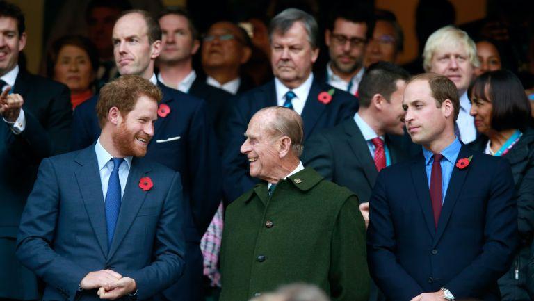 Prince Philip, Prince Harry, Prince William