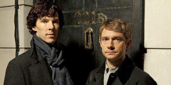 Sherlock and Watson Benedict Cumberbatch Martin Freeman Sherlock The BBC