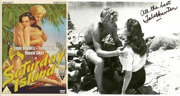 saturday island 1952 hollywood teen idol tab hunter s