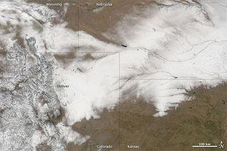 snow storm, canceled flights, closed roads