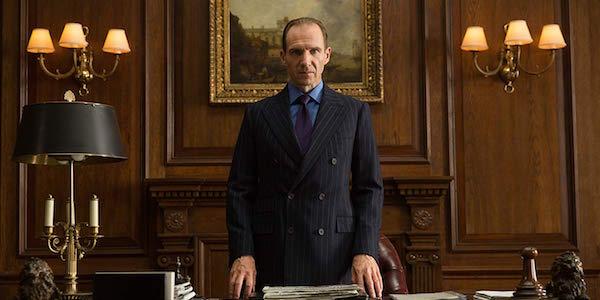Ralph Fiennes as M in Spectre