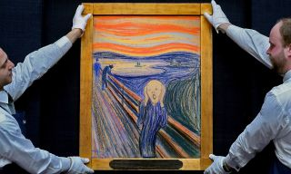 "The tumultuous sky in Edvard Munch's ""The Scream"" painting may have been inspired by so-called nacreous clouds."