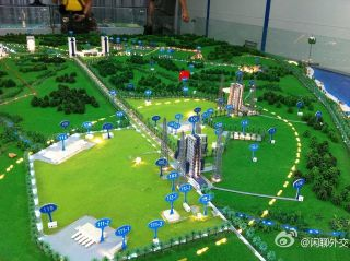 Hainan Island Spaceport Model