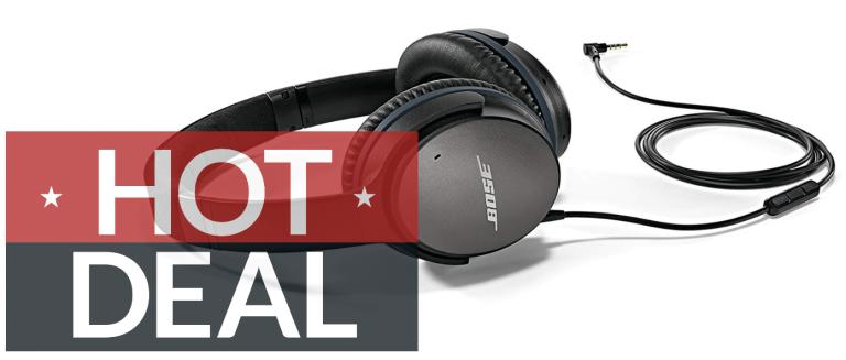 Bose QuietComfort 25 wired Amazon Black Friday deals