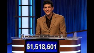 Matt Amodio's 'Jeopardy!' winning streak came to an end Monday with 38.