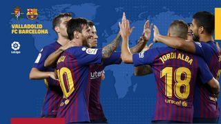 Valladolid vs Barcelona live stream la liga