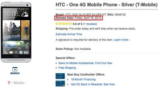 HTC One T Mobile release date