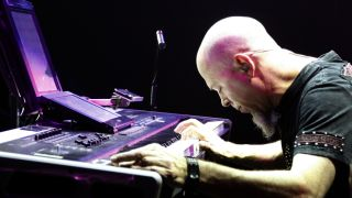 I m always thinking about ways to produce sound or control sound says Rudess who has several new projects he ll be releasing this year