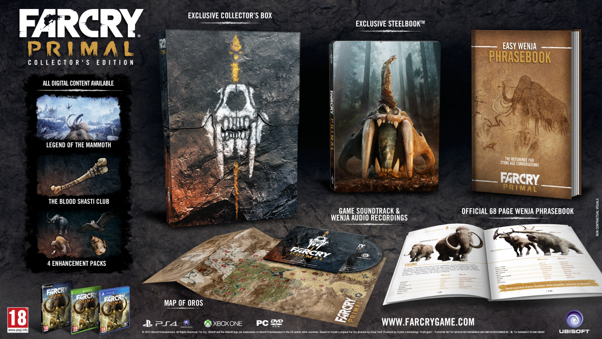 Far Cry Primal Gets Two Special Editions But Do They Rock