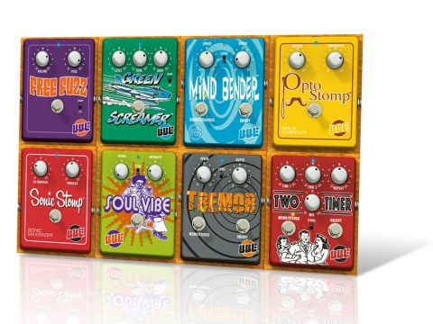 Emulations of eight classic pedal types