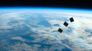 Orbital internet