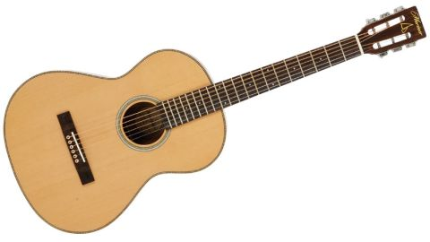 The wide string spacing of the Capstan, especially in lower positions, makes for easier fingerstyle