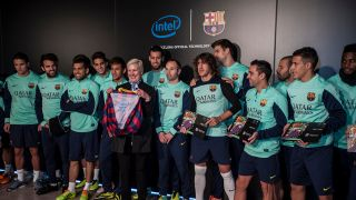 823b5349df7 FC Barcelona's latest kit has Intel inside - literally | TechRadar