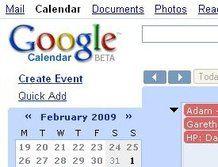 Google Calendar Goes offline