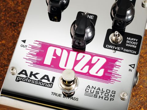 The Drive3 Fuzz effectively runs a wide tonal gamut.