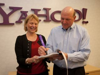 Yahoo behind Ballmer and Bing