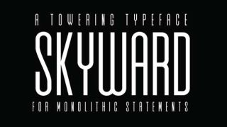 Font of the day: Skyward