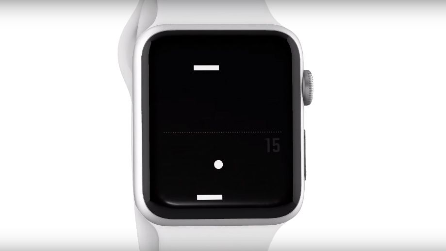 Pong is the game the Apple Watch was made to play