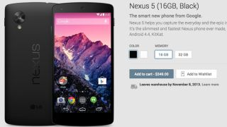 Nexus 5 on sale for every carry but Verizon
