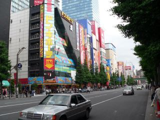 Akihabara was back to normal today, but Japan's 'net users may never be the same