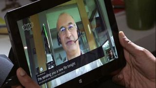 Microsoft demos 'near real-time' language translation for Skype voice calls