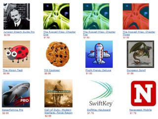 Amazon's Appstore icons
