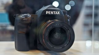 Pentax full frame DSLR at The Photography Show 2014