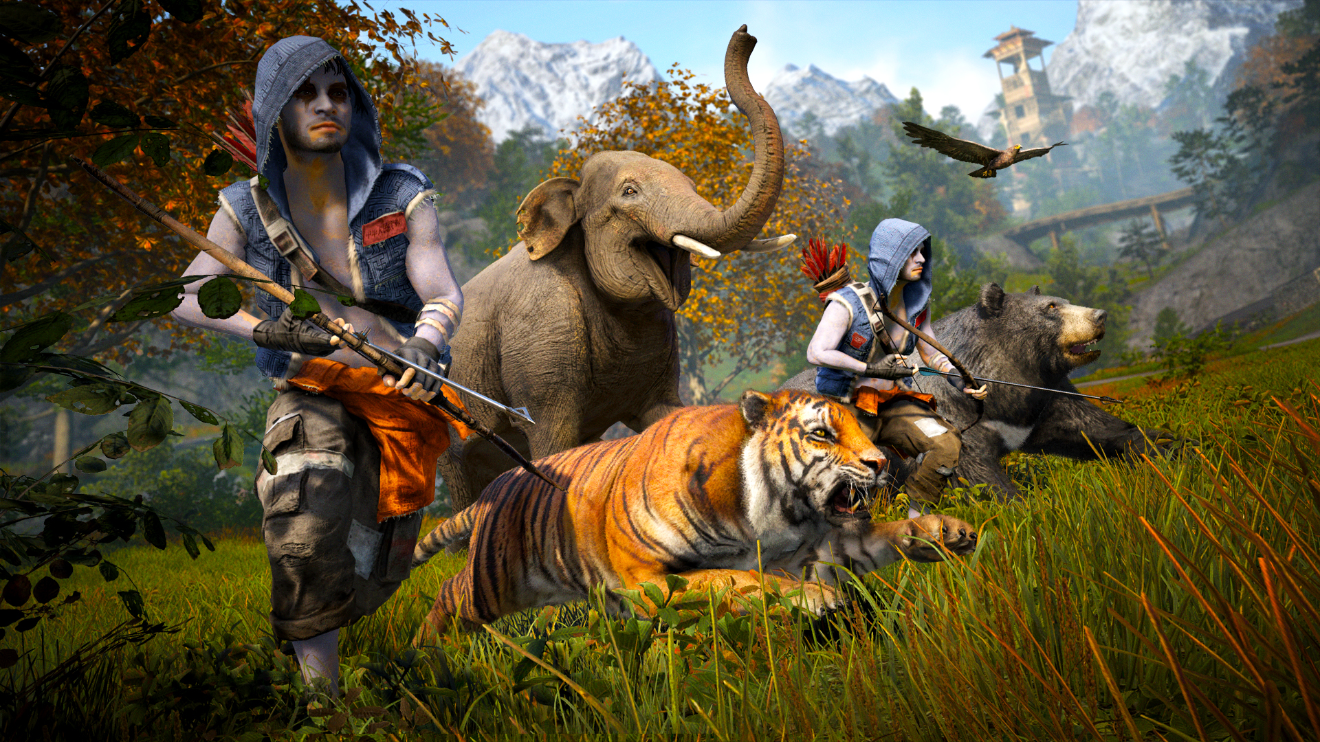 The Animals Of Far Cry 4 That Are Going To Kill You And The Ones