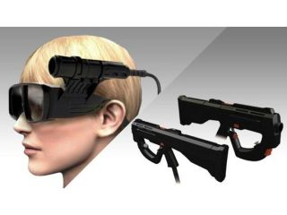 Metal Gear Solid gets head tracking 3D specs in the new arcade version of the game