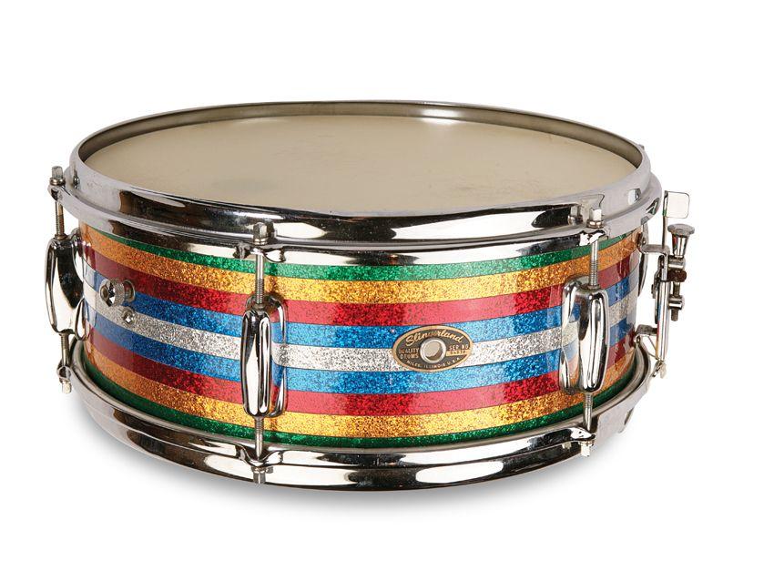 vintage drum gear slingerland snares and satin flame pearl kit musicradar. Black Bedroom Furniture Sets. Home Design Ideas