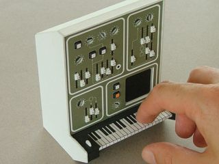 Little wonder Dan McPharlin s cardboard synths